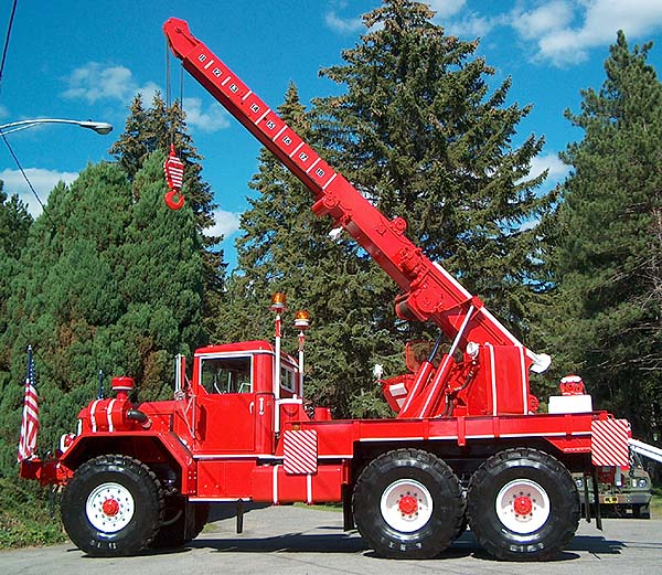 How To Rotate Tires >> 6X6 WRECKER BOOM PHOTOS