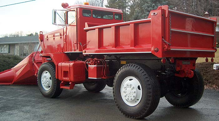 Oshkosh 4x4 Plow Truck